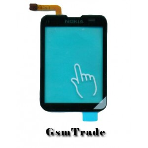 Nokia C3-01 érintőplexi, touchscreen