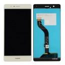 Huawei P8 Lite 2017 fekete komplett LCD kijelző