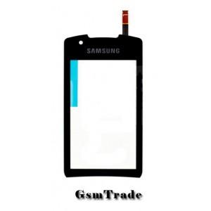 Samsung GT-S5620 érintőplexi, touch, fekete