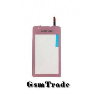 Samsung GT-S5620 érintőplexi, touch,pink