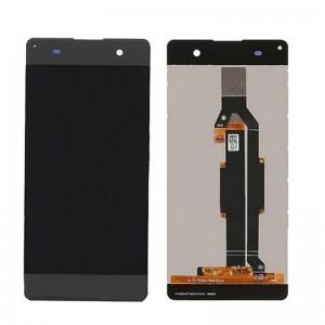 Sony Xperia XA Dual gyári fekete komplett LCD kijelző