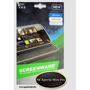 Sony Ericsson Xperia Mini Pro képernyővédő fólia, screenprotector