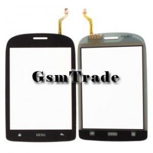 Huawei U8110 érintőpanel, touchscreen, digitizer, fekete