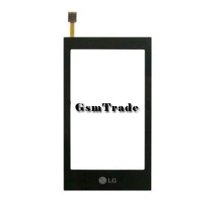 LG GT 505 érintőlexi, touch fekete utángyártott