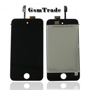 Ipod Touch 4G LCD kijelző érintővel fekete