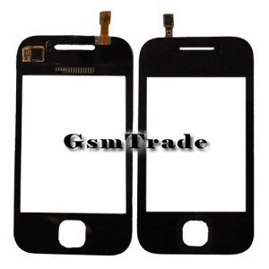 Samsung GT-S5360 gyári fekete érintőpanel, touchscreen