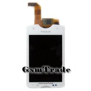 Sony Ericsson Xperia mini pro SK17i lcd kijelző érintővel, fehér