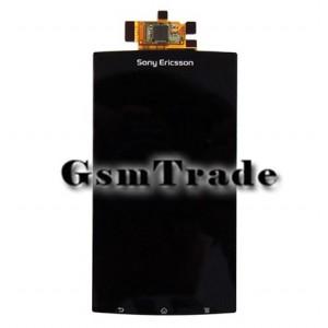 Sony Ericsson Xperia Arc, Arc S, LT15, LT18 lcd kijelző érintővel, fekete