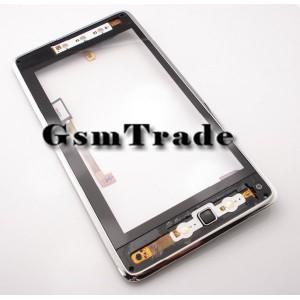 Huawei Ideos S7 érintőpanel kerettel, touchscreen