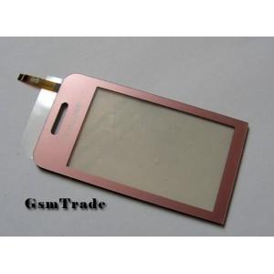 Samsung s5230 érintőplexi, touchscreen, pink