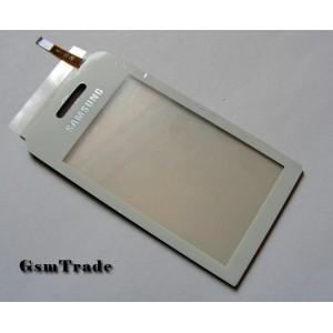 Samsung s5230 érintőplexi, touchscreen, white