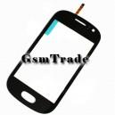 Samsung GT-S6810 Galaxy Fame gyári fekete érintőpanel, touchscreen