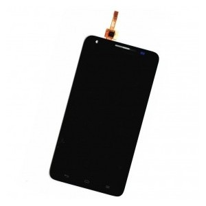 Huawei Ascend G750 gyári fekete komplett LCD modul érintővel