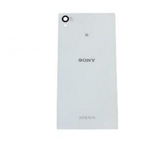 Sony Xperia Z1 Compact  fehér utángyártott akku fedél, hátlap