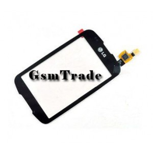 LG Optimus One P500 gyári fekete érintőpanel, touchscreem
