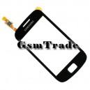 Samsung GT-S6500 Galaxy Mini 2 gyári fekete érintőpanel, touchscreen