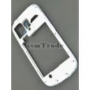 Samsung GT-I8190 Galaxy S3 mini gyári fehér középkeret