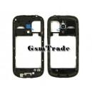 Samsung GT-I8190 Galaxy S3 mini gyári fekete középkeret